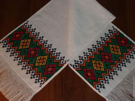 Текстиль, ковры ручной работы. Ярмарка Мастеров - ручная работа. Купить Рушник. Handmade. Ручная работа, хлопок