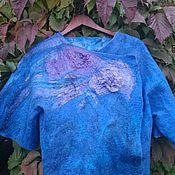 """Одежда ручной работы. Ярмарка Мастеров - ручная работа Жакет """"Морская рапсодия"""". Handmade."""
