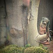"""Куклы и игрушки ручной работы. Ярмарка Мастеров - ручная работа """"Манюша и мятный лес"""" зайка из мини коллекции """"Травяной сбор"""". Handmade."""
