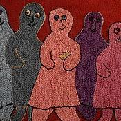 """Картины и панно ручной работы. Ярмарка Мастеров - ручная работа """"Люди"""". Handmade."""