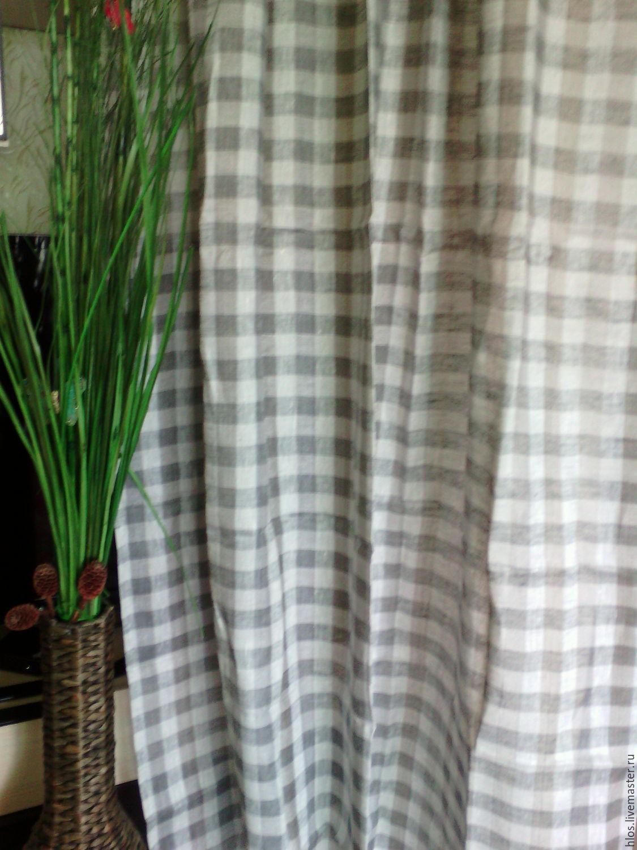 linen curtains 'Box!', Curtains1, Ivanovo,  Фото №1
