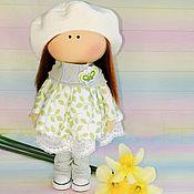 Тыквоголовка ручной работы. Ярмарка Мастеров - ручная работа Текстильная интерьерная кукла тыквоголовка. Handmade.