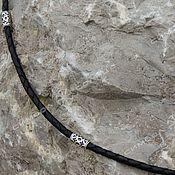 Русский стиль handmade. Livemaster - original item The cord is braided Russia (with inserts). Handmade.