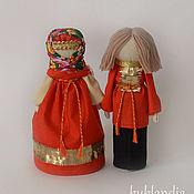 Народная кукла ручной работы. Ярмарка Мастеров - ручная работа Парочка, русские народные куклы. Handmade.