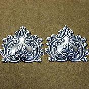 Материалы для творчества handmade. Livemaster - original item Accessories from America filigree, pendants, brooch made of brass and silver. Handmade.