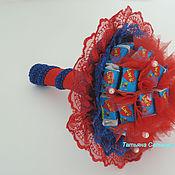 Цветы и флористика ручной работы. Ярмарка Мастеров - ручная работа Букет Love is.Подарок день рождения девушке,девочке праздник. Handmade.
