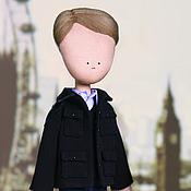 Куклы и игрушки ручной работы. Ярмарка Мастеров - ручная работа Джон Ватсон -  кукла ручной работы по мотивам ббс-шного сериала Шерлок. Handmade.