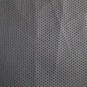 Материалы для творчества ручной работы. Ярмарка Мастеров - ручная работа листы экокожи № 4нерезанная в рулоне серы с перфорацией. Handmade.