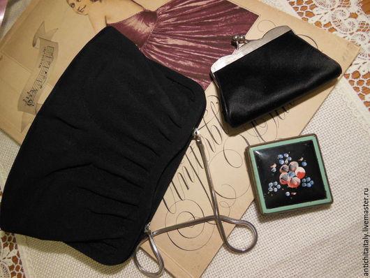 Винтажные сумки и кошельки. Ярмарка Мастеров - ручная работа. Купить Сумочка вечерняя, винтаж из Италии. Handmade. Купить в санкт-петербурге