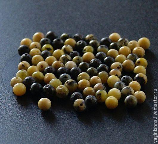 Для украшений ручной работы. Ярмарка Мастеров - ручная работа. Купить Туркенит натуральный желтый, мелкие бусины. Handmade. Туркенит