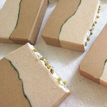 Косметика ручной работы. Ярмарка Мастеров - ручная работа Герань, сандал и мандарин мыло с нуля с жёлтой глиной. Handmade.