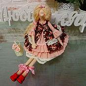 Куклы и игрушки ручной работы. Ярмарка Мастеров - ручная работа Интерьерная куколка Тильда. Handmade.