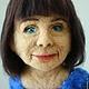 Портретные куклы ручной работы. Портретная кукла Леди в синем. Диана Грант (zumzum-latvija). Ярмарка Мастеров. Подарок подруге