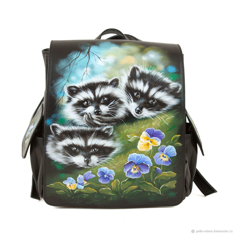 Women's backpack 'Spring has come', Backpacks, St. Petersburg,  Фото №1