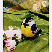 Куклы и игрушки ручной работы. Ярмарка Мастеров - ручная работа Синичка. Handmade.