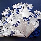 Свадебный салон ручной работы. Ярмарка Мастеров - ручная работа Кулечки для лепестков малые. Handmade.