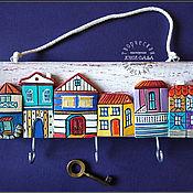 """Ключницы ручной работы. Ярмарка Мастеров - ручная работа Ключница """"Амстердам"""". Керамика.. Handmade."""