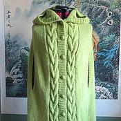 Одежда handmade. Livemaster - original item Knitted poncho