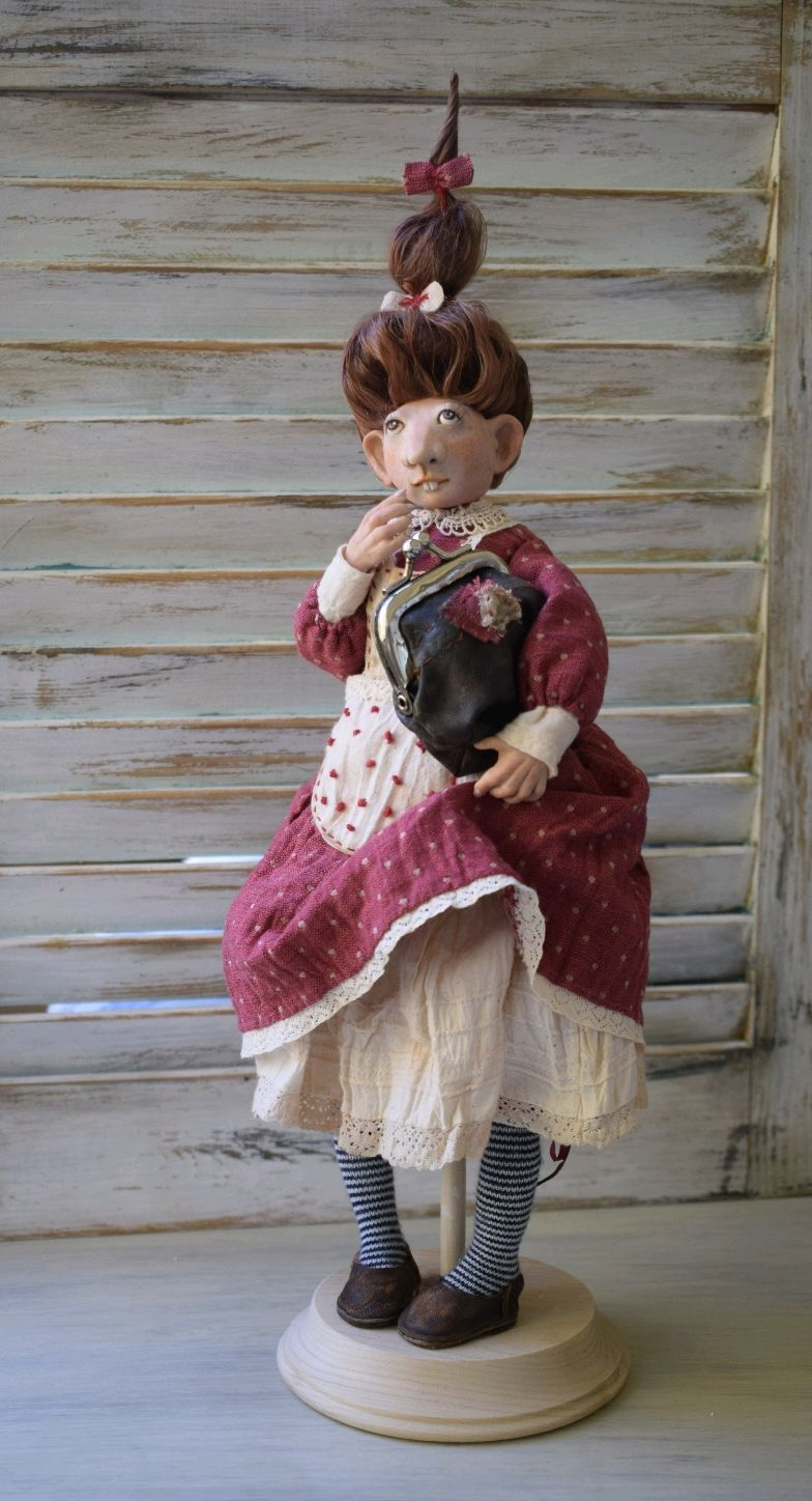 Author's collectible doll Clava, Dolls, Nizhny Novgorod,  Фото №1