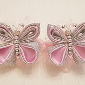 Работы для детей, handmade. Livemaster - original item kit rubbers butterfly (pink). Handmade.