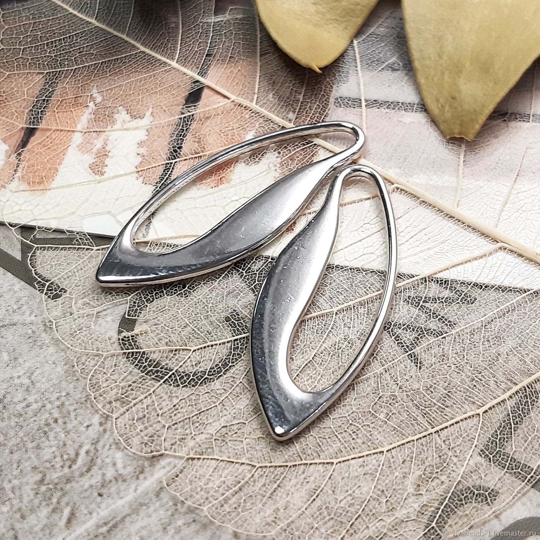 Suspension 31h12 mm platinum (3433), Pendants, Voronezh,  Фото №1