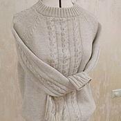 Одежда ручной работы. Ярмарка Мастеров - ручная работа Костюм вязаный с кашемиром. Handmade.
