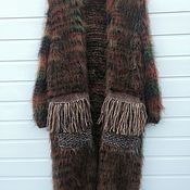 Одежда ручной работы. Ярмарка Мастеров - ручная работа Кардиган в стиле Лало из мохера. Handmade.