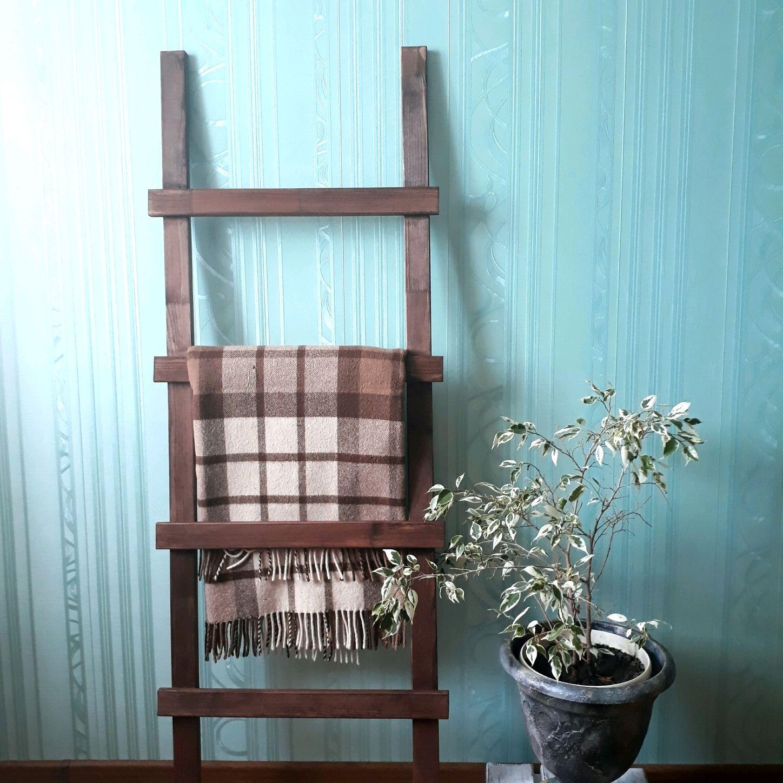 Декоративная  лестница  для пледов 1, Лестницы, Стерлитамак,  Фото №1