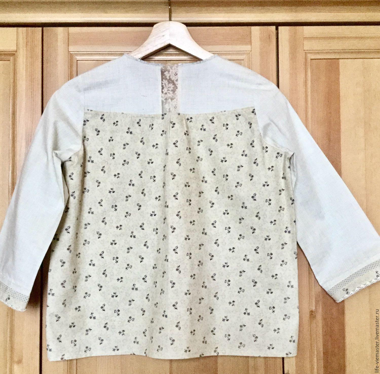 Женские блузки из льна купить