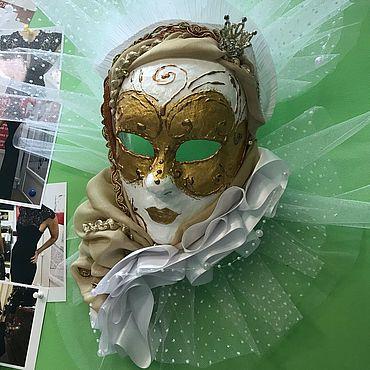 Для дома и интерьера ручной работы. Ярмарка Мастеров - ручная работа Венецианская маска Вольто. Handmade.