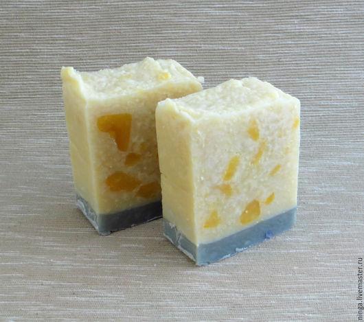 Мыло ручной работы. Ярмарка Мастеров - ручная работа. Купить Солярис - натуральное мыло. Handmade. Разноцветный, спа, белый, фантазия