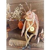 Для дома и интерьера handmade. Livemaster - original item Figurines: Christmas deer doll interior. Handmade.