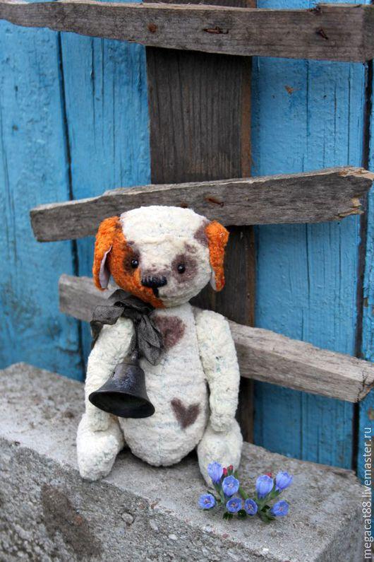 Мишки Тедди ручной работы. Ярмарка Мастеров - ручная работа. Купить Собачка тедди Жужа. Handmade. Белый, собака