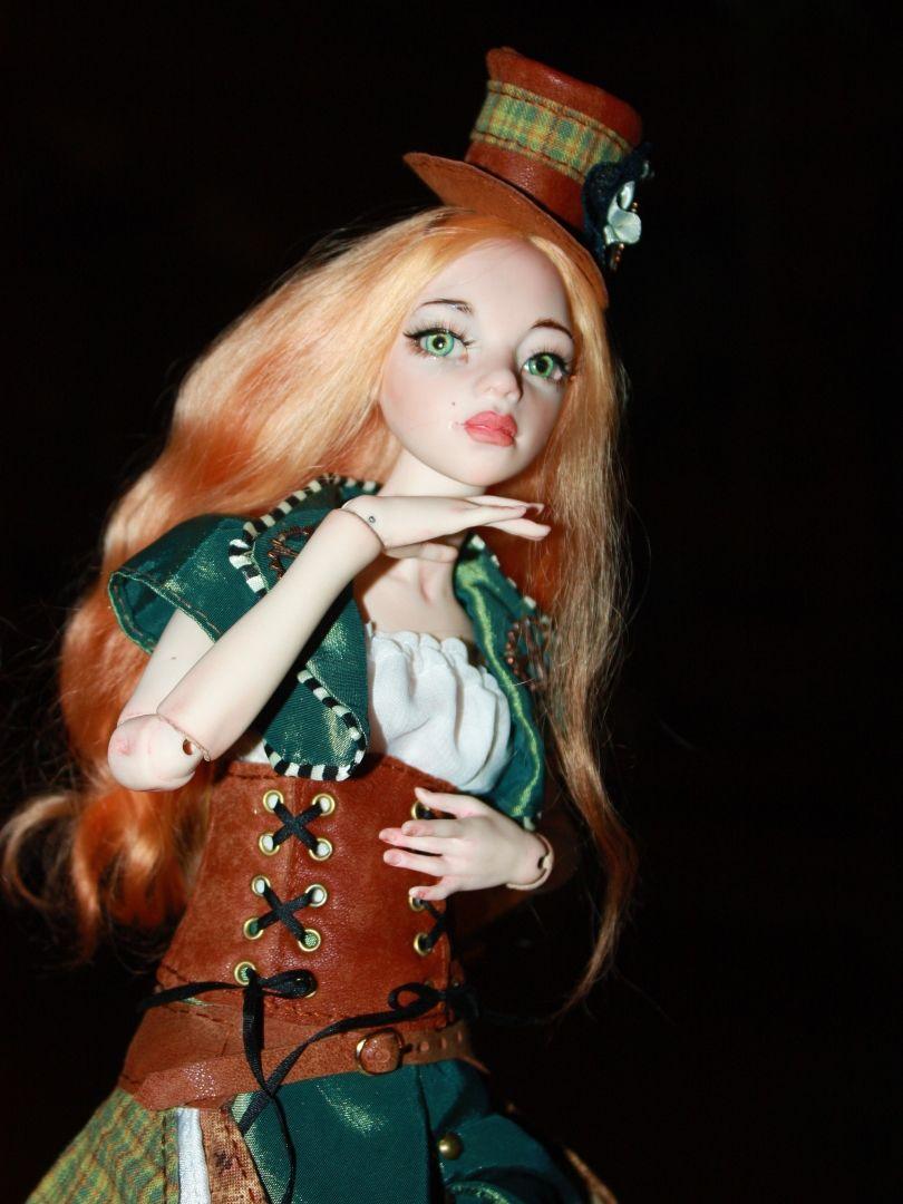 кукла профессиональная косметика