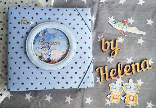 """Для новорожденных, ручной работы. Ярмарка Мастеров - ручная работа. Купить фото-блокнот """" мамины заметки"""" от 0 до 12 месяц.. Handmade."""