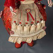 Куклы и игрушки ручной работы. Ярмарка Мастеров - ручная работа Красная птица - хранительница дома. Handmade.