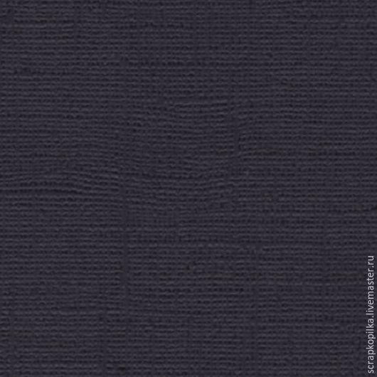 Открытки и скрапбукинг ручной работы. Ярмарка Мастеров - ручная работа. Купить Кардсток текстурированный ЧЕРНЫЙ, 30,5х30,5 см, 216 гр/м. Handmade.