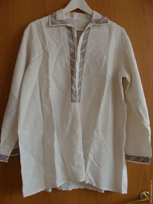 Одежда. Ярмарка Мастеров - ручная работа. Купить Старинная мужская рубаха.. Handmade. Комбинированный
