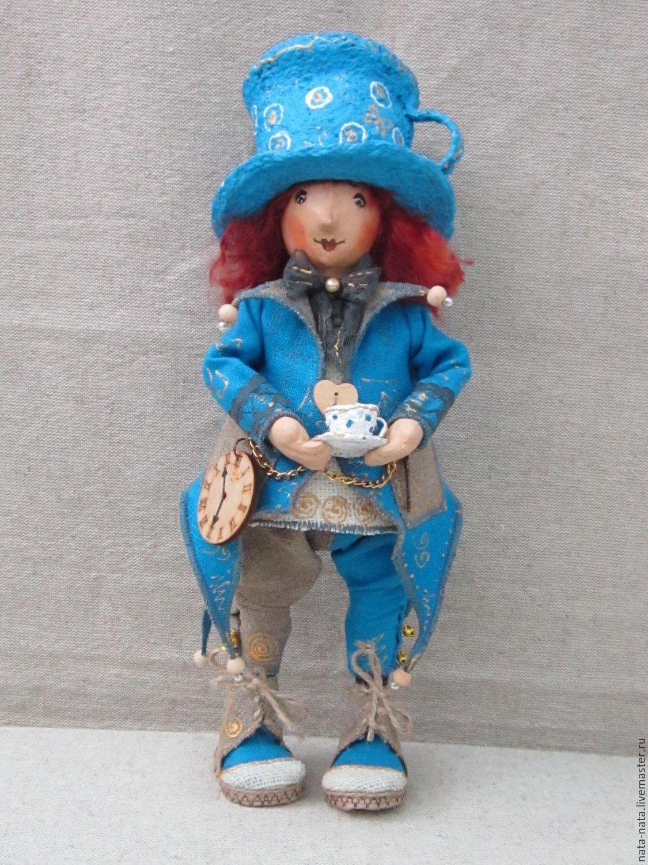 """Текстильная кукла """"Шляпник"""", Мягкие игрушки, Златоуст,  Фото №1"""