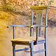Мебель ручной работы. Заказать Жемчужный стульчик. alenaklauzner. Ярмарка Мастеров. Массив, декор мебели, шебби шик