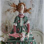 Куклы и игрушки ручной работы. Ярмарка Мастеров - ручная работа Кукла в стиле тильда.Фея роз-Изольда.. Handmade.