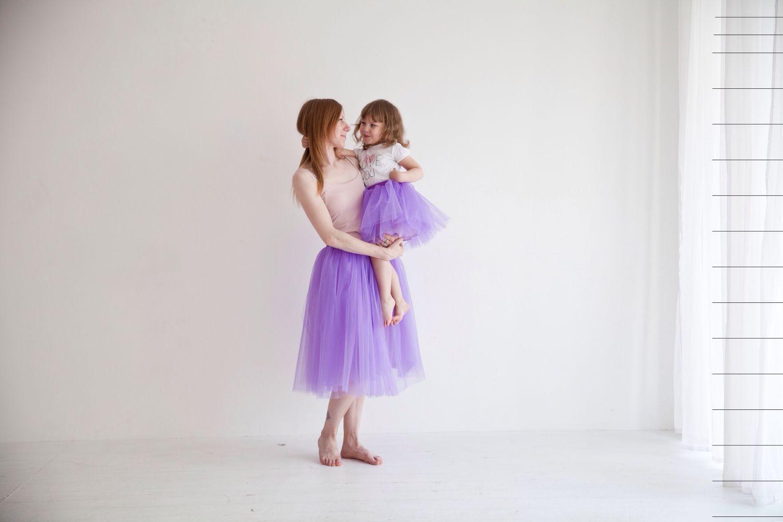 Юбка пачка мама и дочка купить