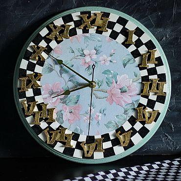 Для дома и интерьера ручной работы. Ярмарка Мастеров - ручная работа Часы: МАККЕНЗИ. Handmade.