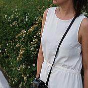 Одежда ручной работы. Ярмарка Мастеров - ручная работа Легкое летнее платье с кулиской. Handmade.