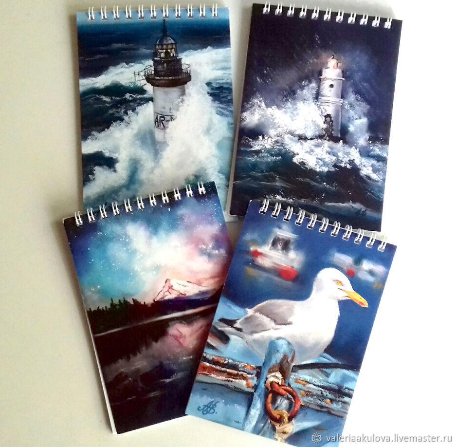 Блокноты, открытки, календари: ПОЛИГРАФИЯ по картинам, Блокноты, Санкт-Петербург,  Фото №1