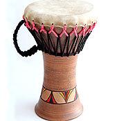 Музыкальные инструменты ручной работы. Ярмарка Мастеров - ручная работа Дарбука средняя. Handmade.