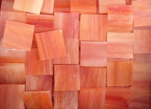 Мозаика для творчества. Оранжево-розовый.