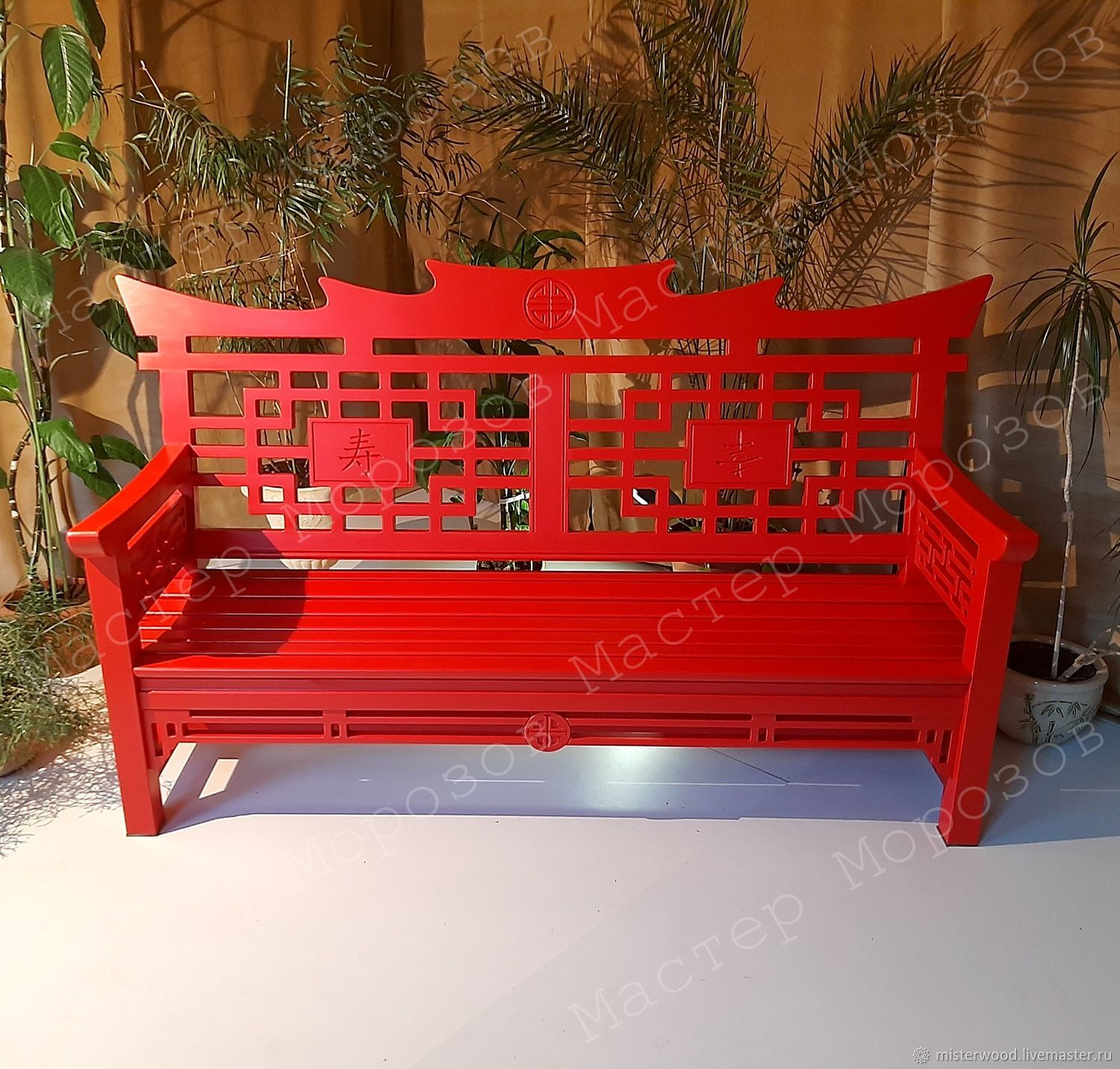 GARDEN BENCH IN THE CHINESE STYLE EMPEROR, Garden benches, Lyubertsy,  Фото №1