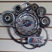Часы классические ручной работы. Ярмарка Мастеров - ручная работа Часы BMW. Handmade.