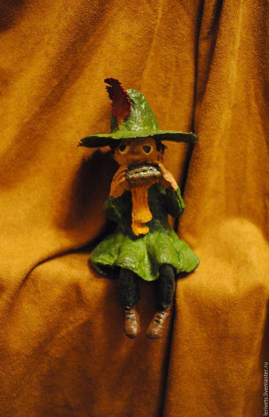 Сказочные персонажи ручной работы. Ярмарка Мастеров - ручная работа. Купить Снусмумрик. Handmade. Снусмумрик, игрушка, мюмла